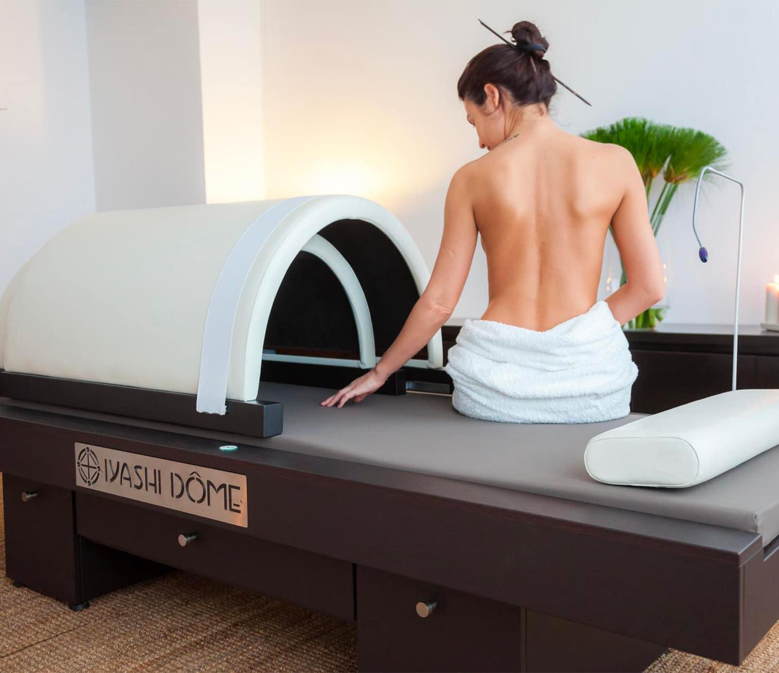 Iyashi dome : soin sauna japonais | découvrez le prix de cette technique à Paris | BCBG